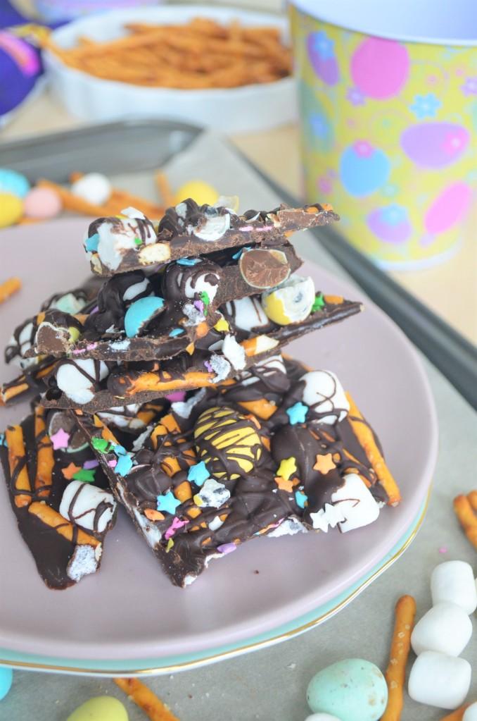 Easter marshmallow Bark Chocolate