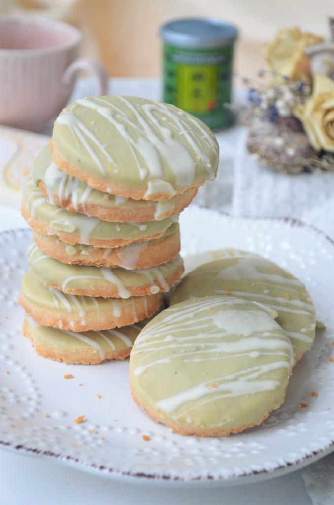 Matcha Cookie Shortbread Cookie