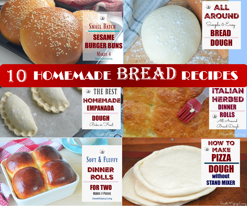 Homemade Bread Video Tutorial
