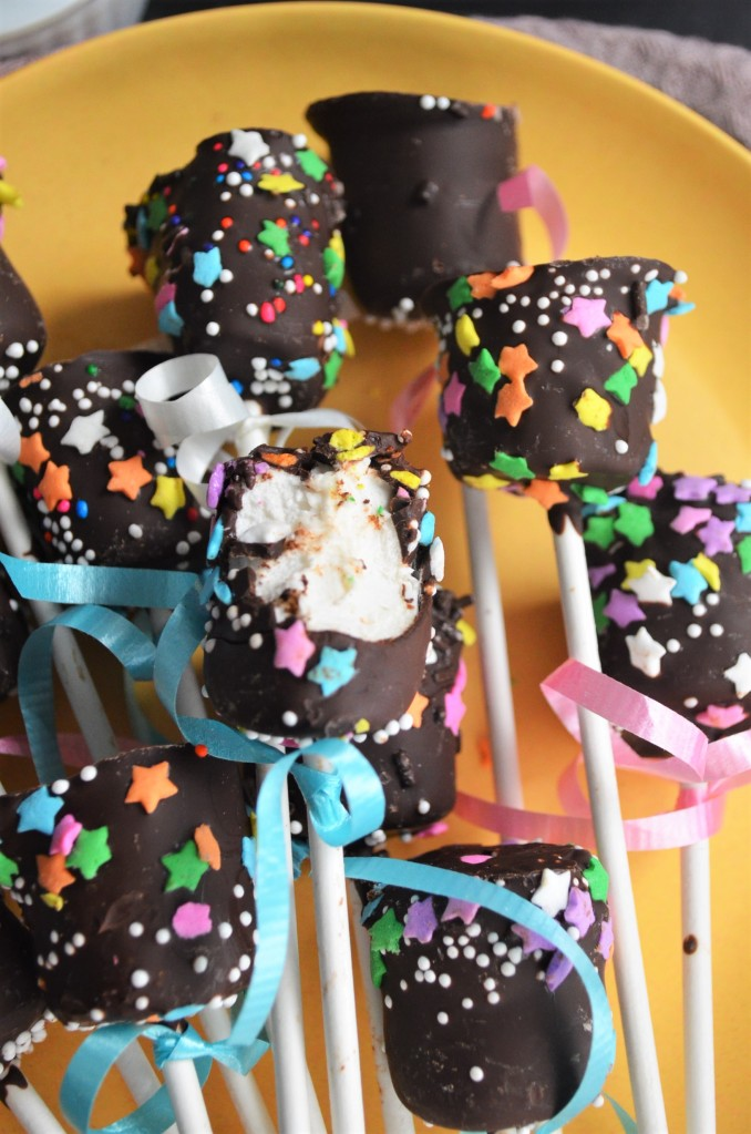 Easter Chocolate Coated Marshmallow By SweetNSpicLiving