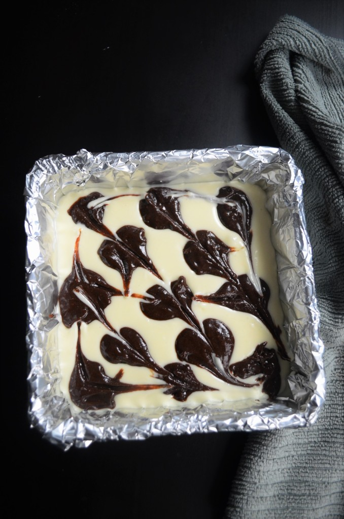 Small Batch Cream Cheese Fudge Brownie By SweetNSpicyLiving