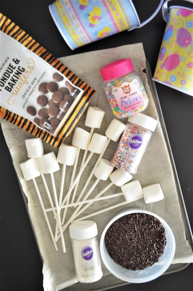 Easter Chocolate Coated Marshmallow