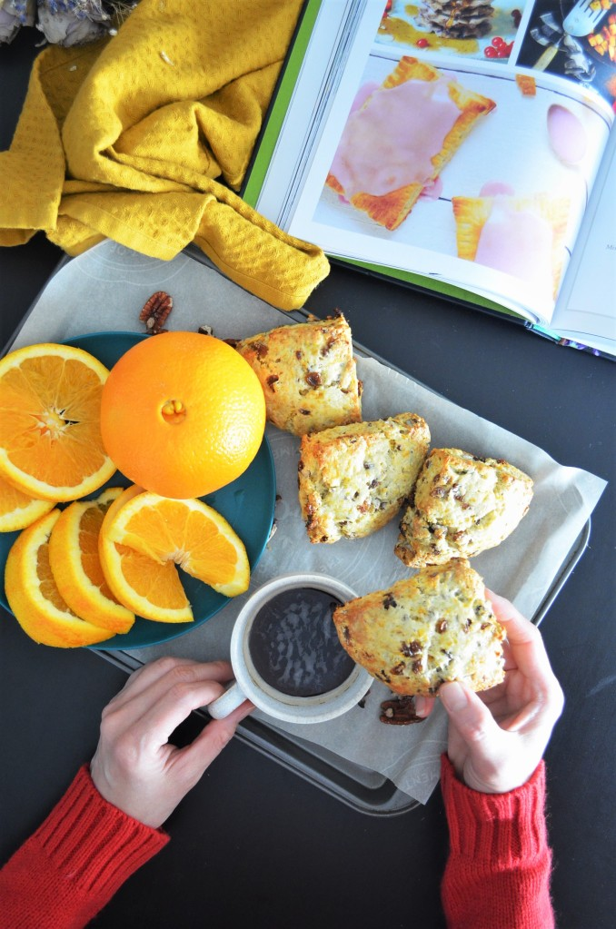 Small batch Orange and Raisins Irish Soda Scones