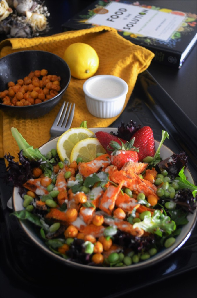 Sweet Potato Fries Buddha Bowl Salad