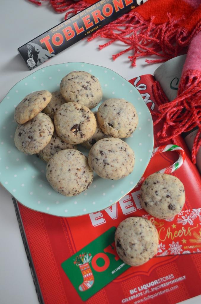 Toblerone Shortbread Cookie By SweetNSpicyLiving