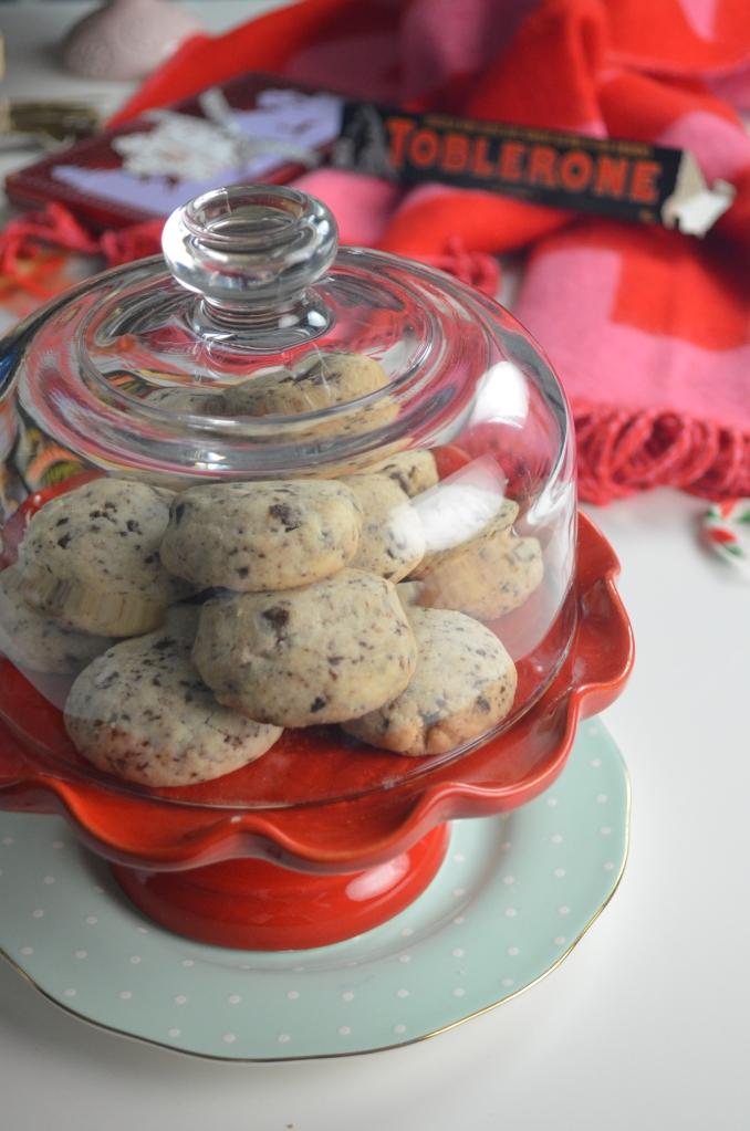 Toblerone Shortbread Cookie