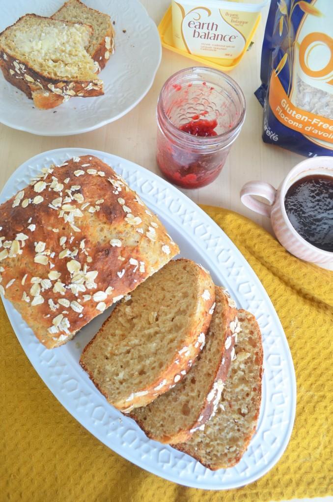 No Yeast No Mixer Sandwich Loaf Bread