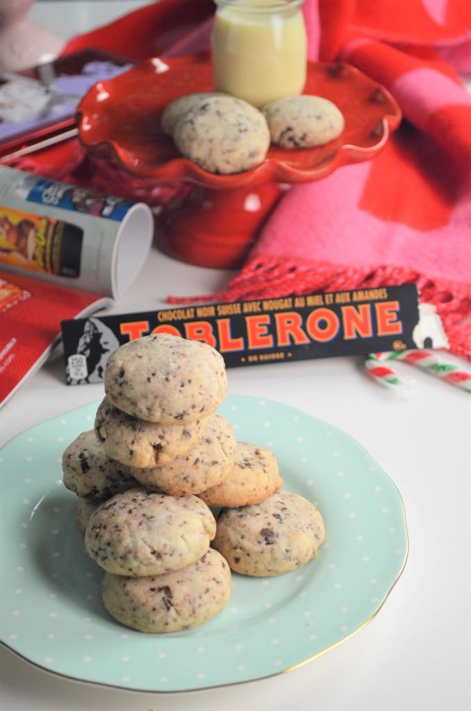 Easy Toblerone Shortbread Cookie