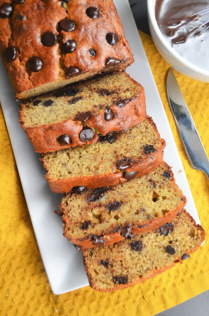 Chickpea Banana Bread By SweetNSpicyLiving