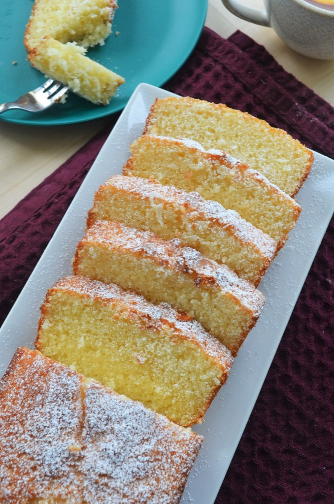 Coconut Butter Cake By SweetNSpicyLiving