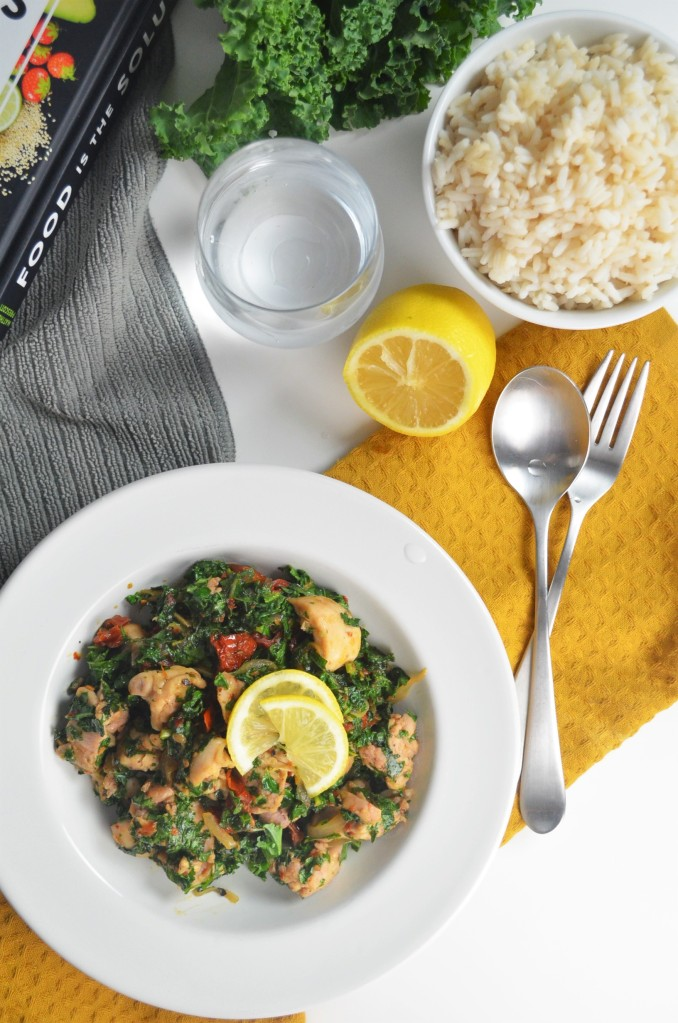 Chicken and Kale Saute