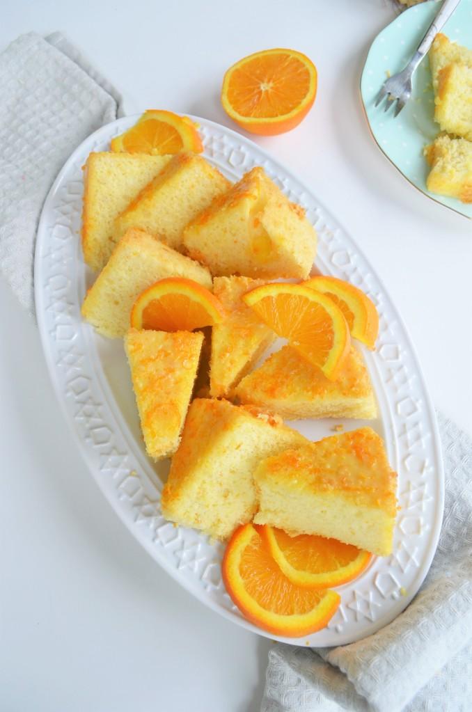 How ro Make Orange Chiffon Cake