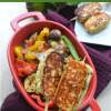 Grilled Mix Vegetable and Halloumi Cheese3