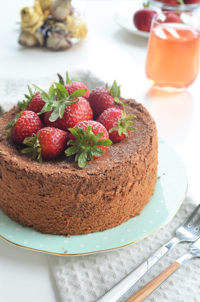 How to Make Chocolate Chiffon Cake BY SweetNSpicyLiving