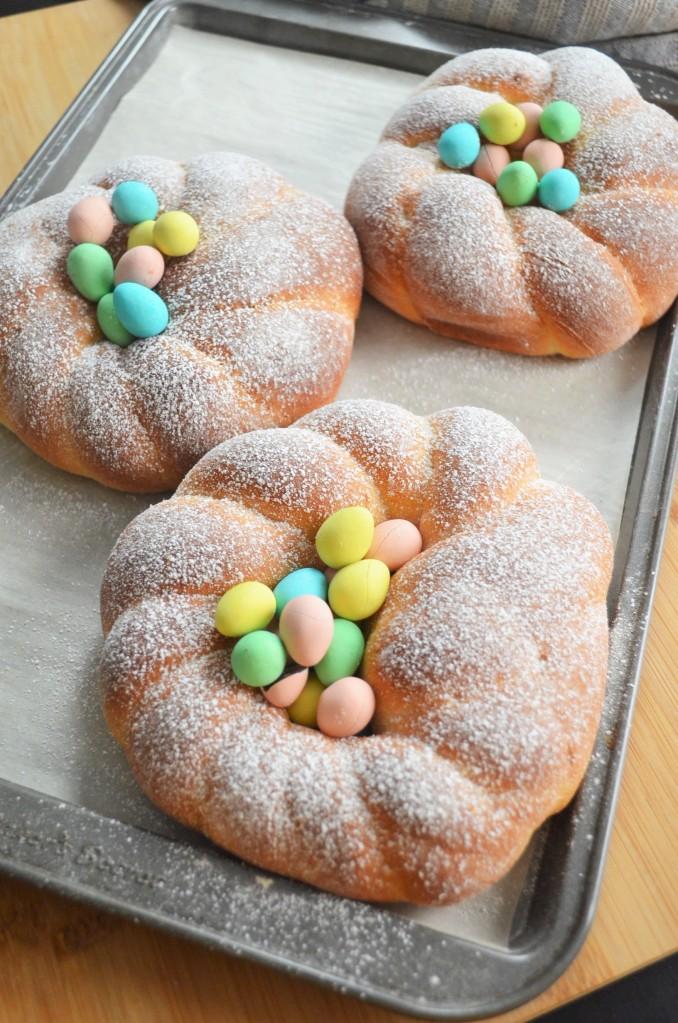 Italian Easter Bread By SweetNSpicyLiving