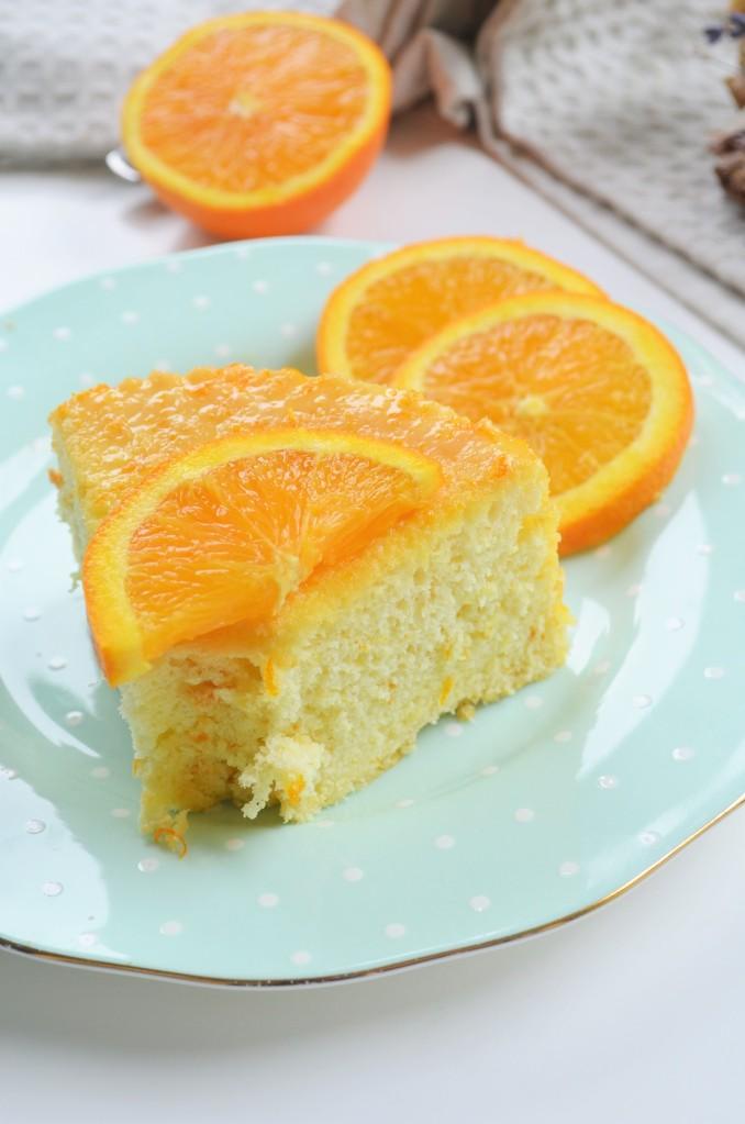 Easy Orange Chiffon Cake