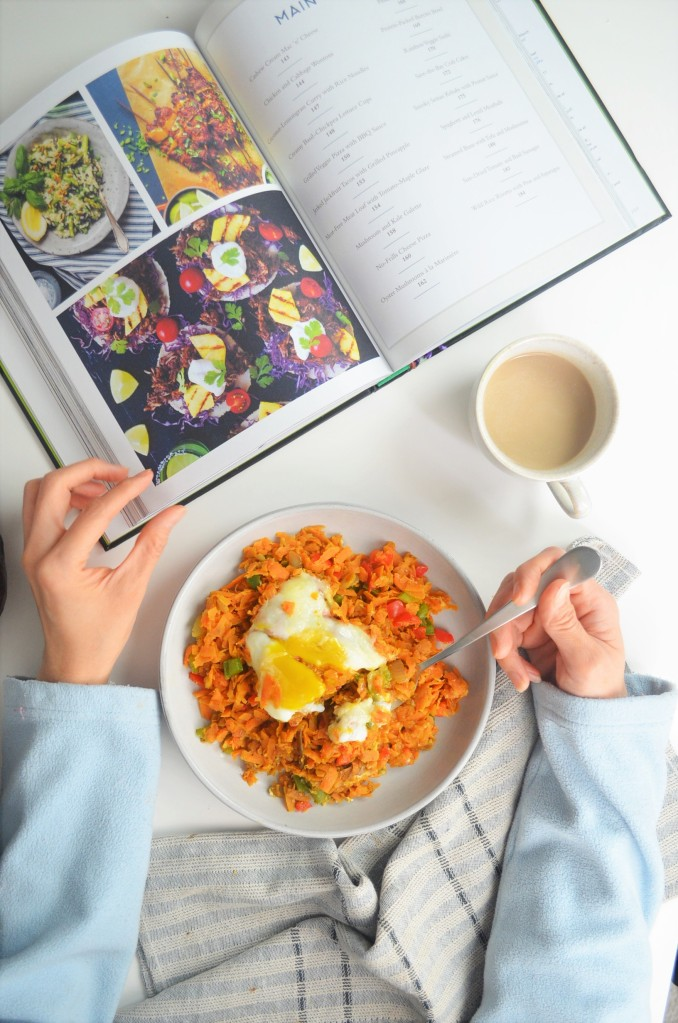 Sweet Potato Breakfast Hash For One