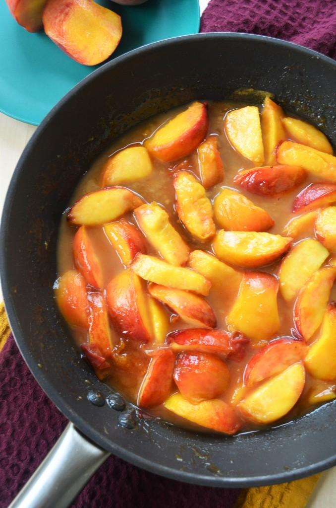 Caramelized Fresh Peach
