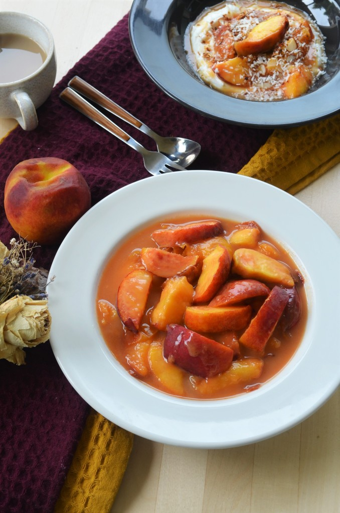 Small Batch Caramelized Peach By SweetNSpicyLiving