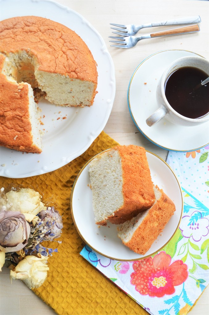 Easy Small Batch Banana Chiffon Cake By SweetNSpicyLiving