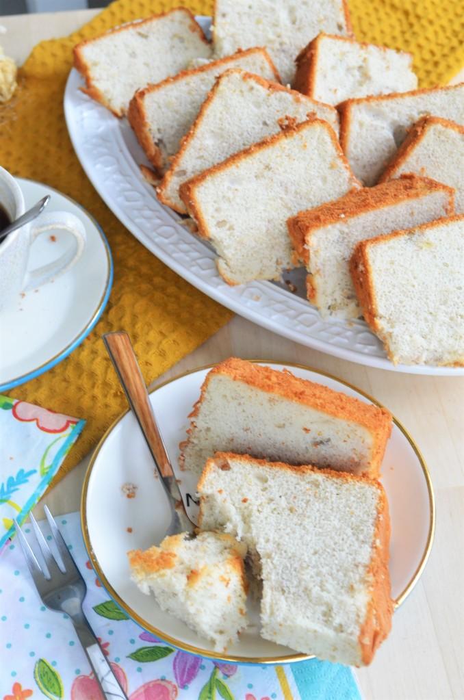 Small Batch Banana Chiffon Cake