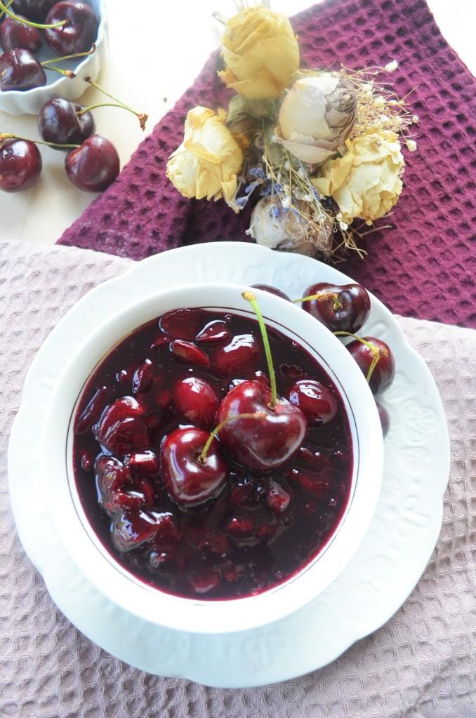 Small Batch Cherry Sauce