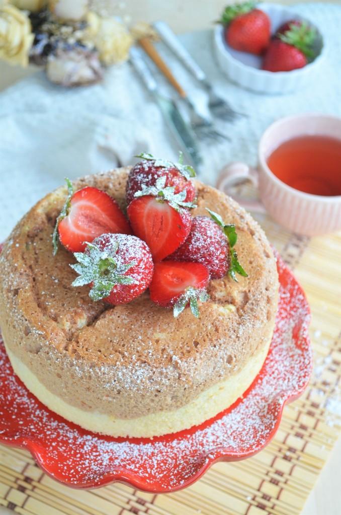 Vanilla Chocolate Chiffon Cake