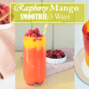 Raspberry Mango SmoothieCover