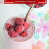 Raspberry Oats Drink 3
