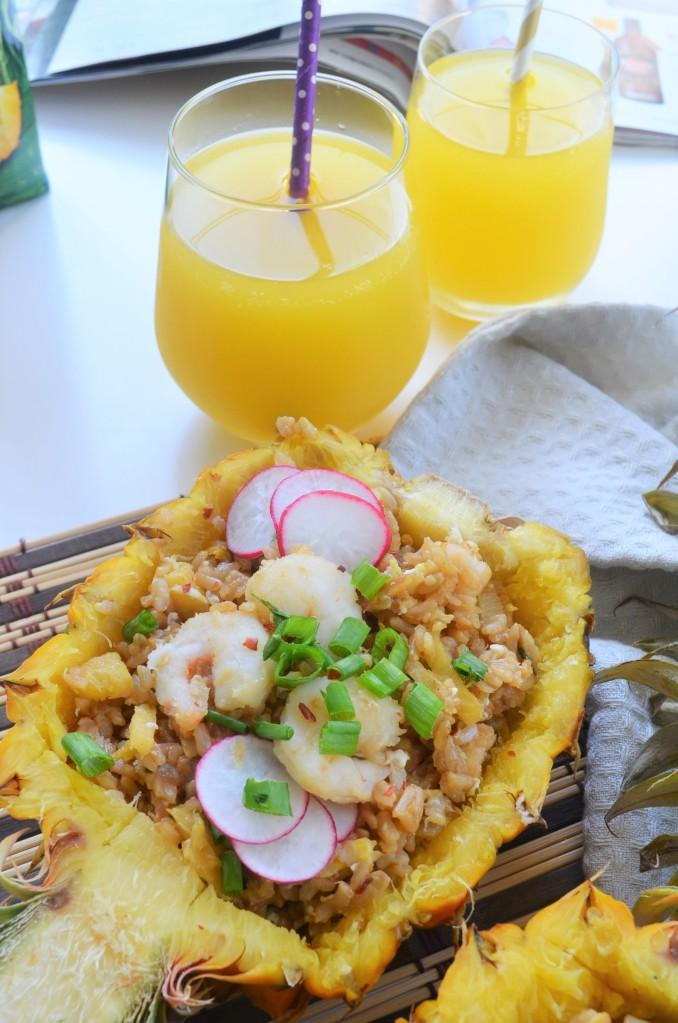 Small Batch Hawaiian Shrimp Fried Rice