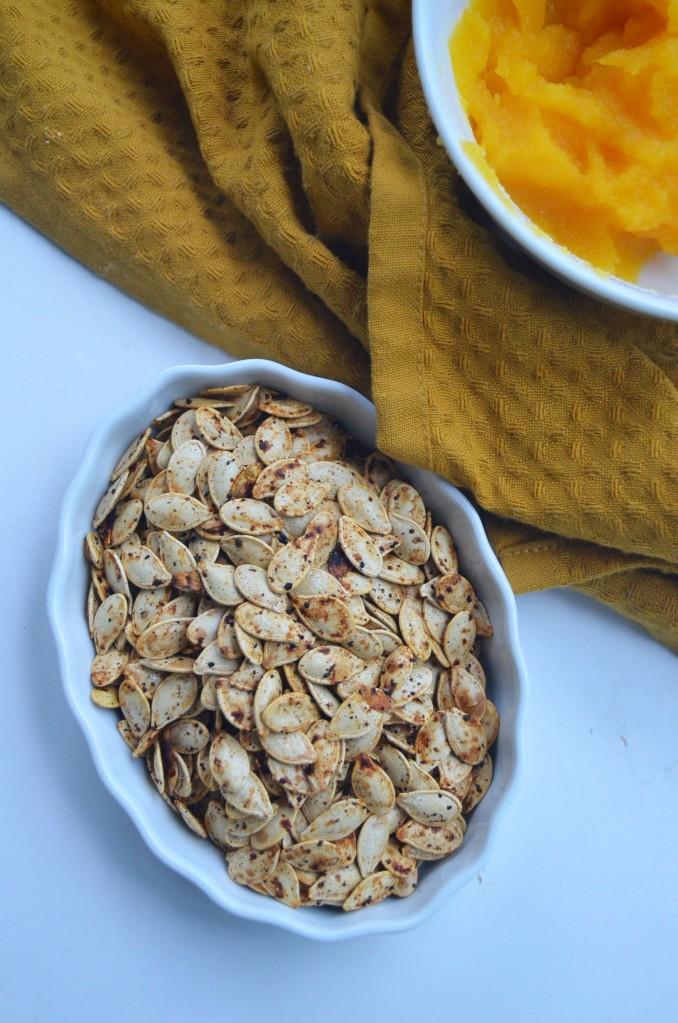 Roasted Pumpkin Seed Ingredients