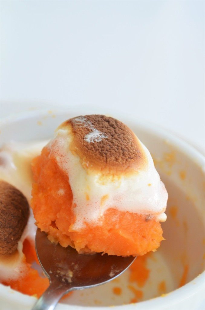 Baked Sweet Potato and Marshmallow