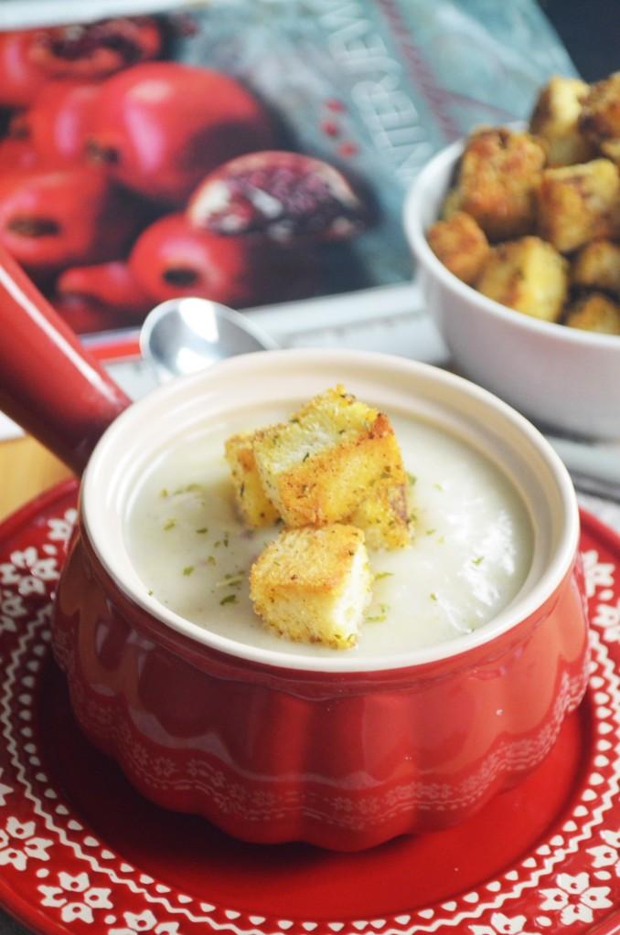 Small Batch Potato Leek Soup