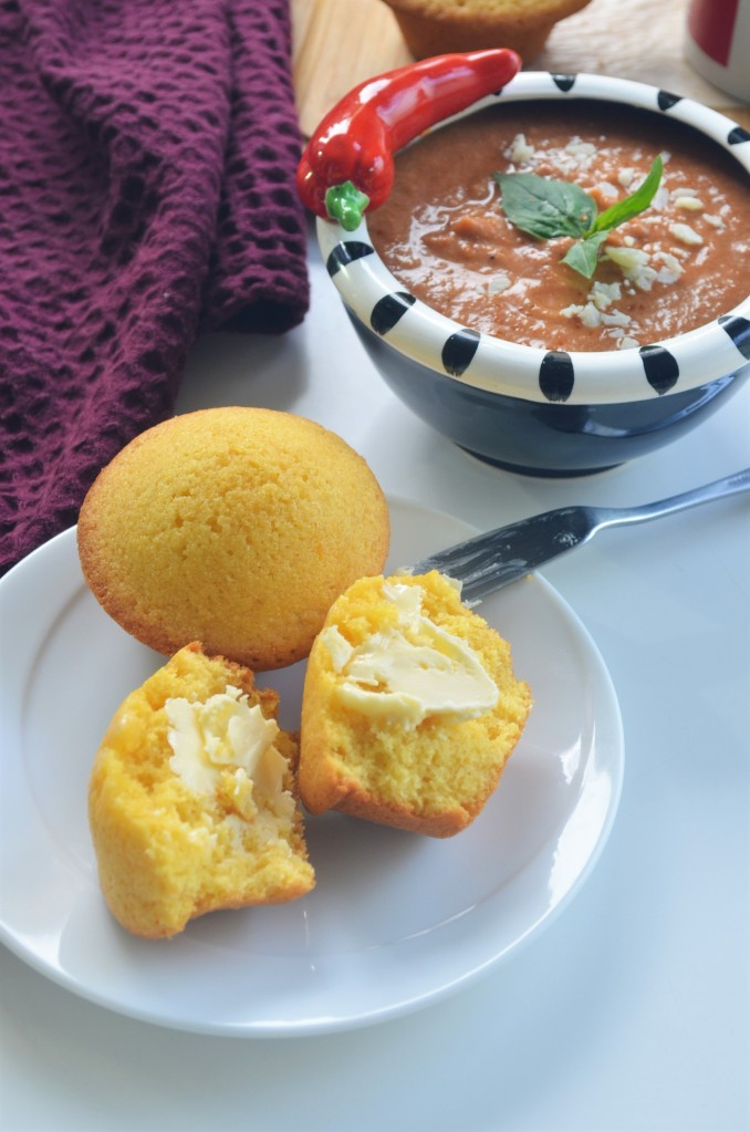 How to Make Cornbread Muffin By SweetNSpicyLiving
