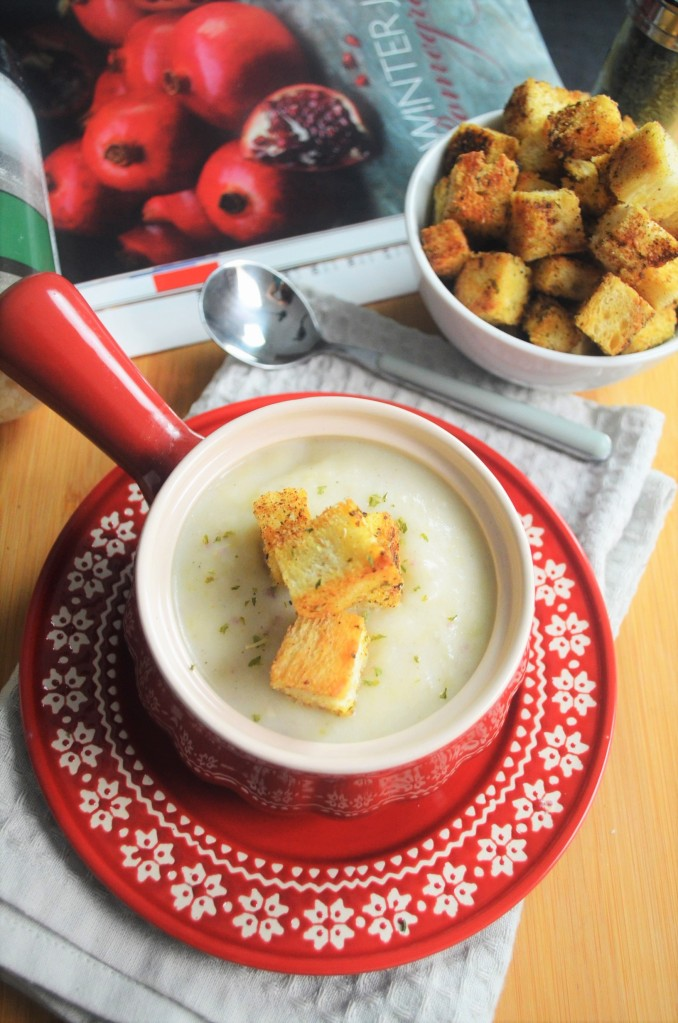 Potato and Leek Soup For Two