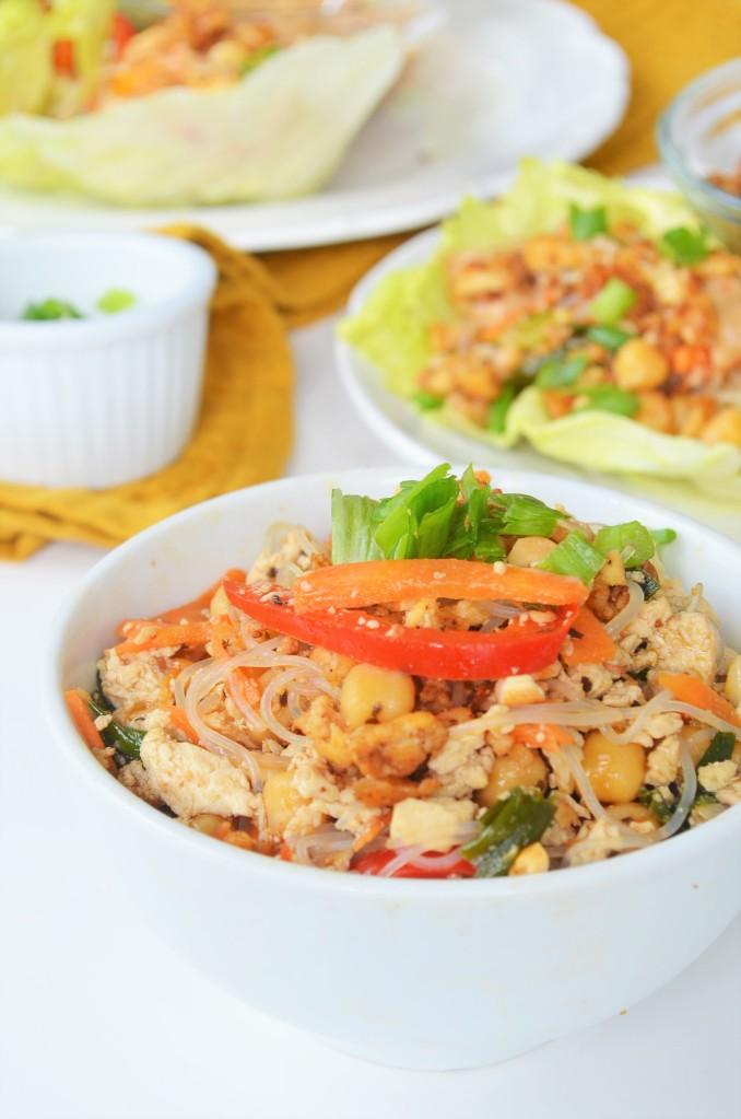 Vegetarian Tofu Wrap