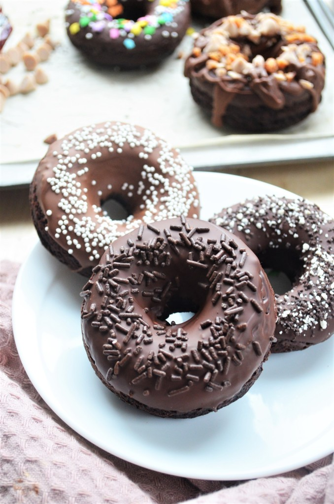 Homemade Chocolate Donuts