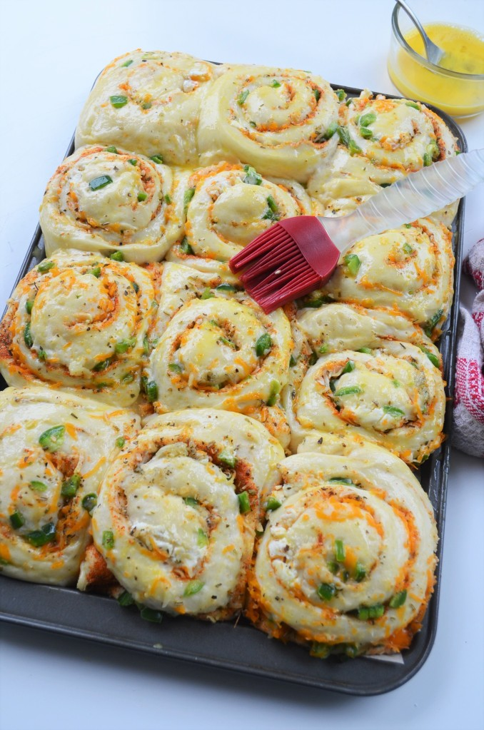 Jalapeno and Cream Cheese Pull Apart Bread
