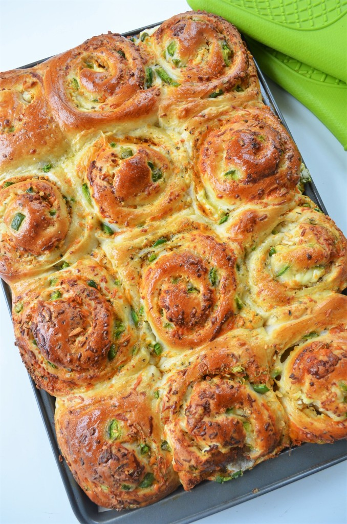 Jalapeno Cheese Pull Apart Bread