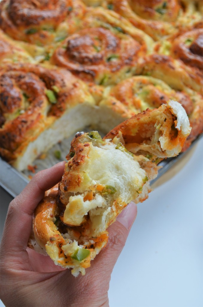 Jalapeno Cheese Pull Apart Roll