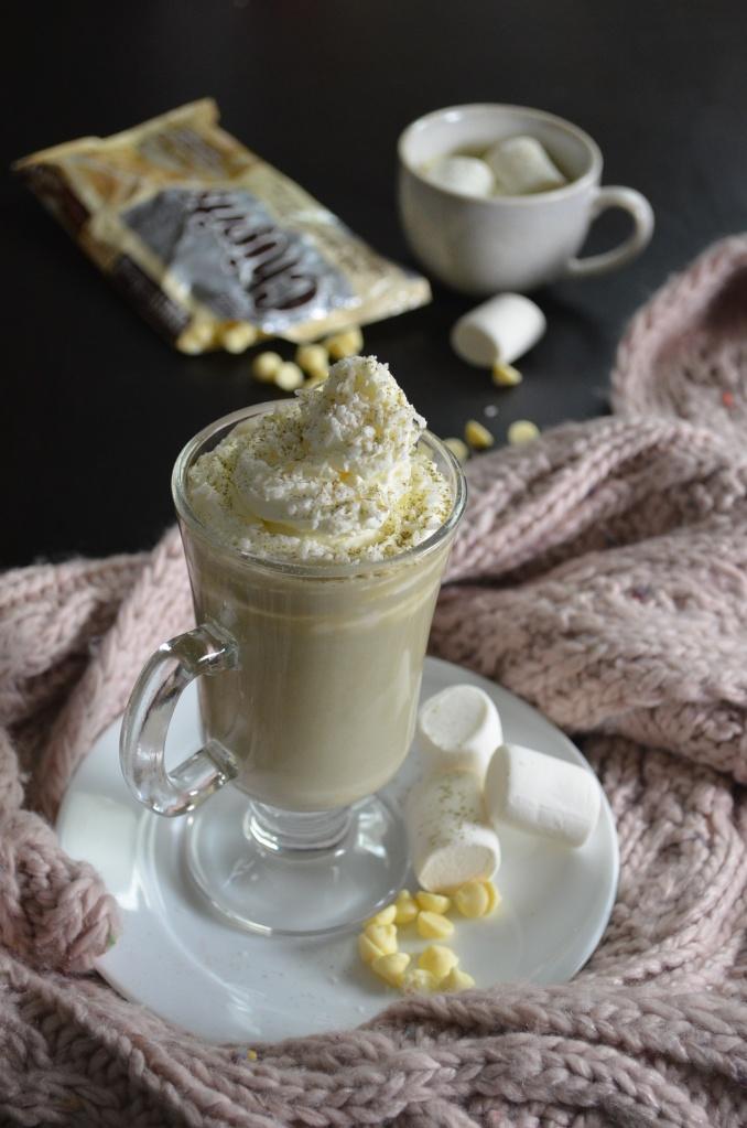 Matcha Coconut Hot Chocolate