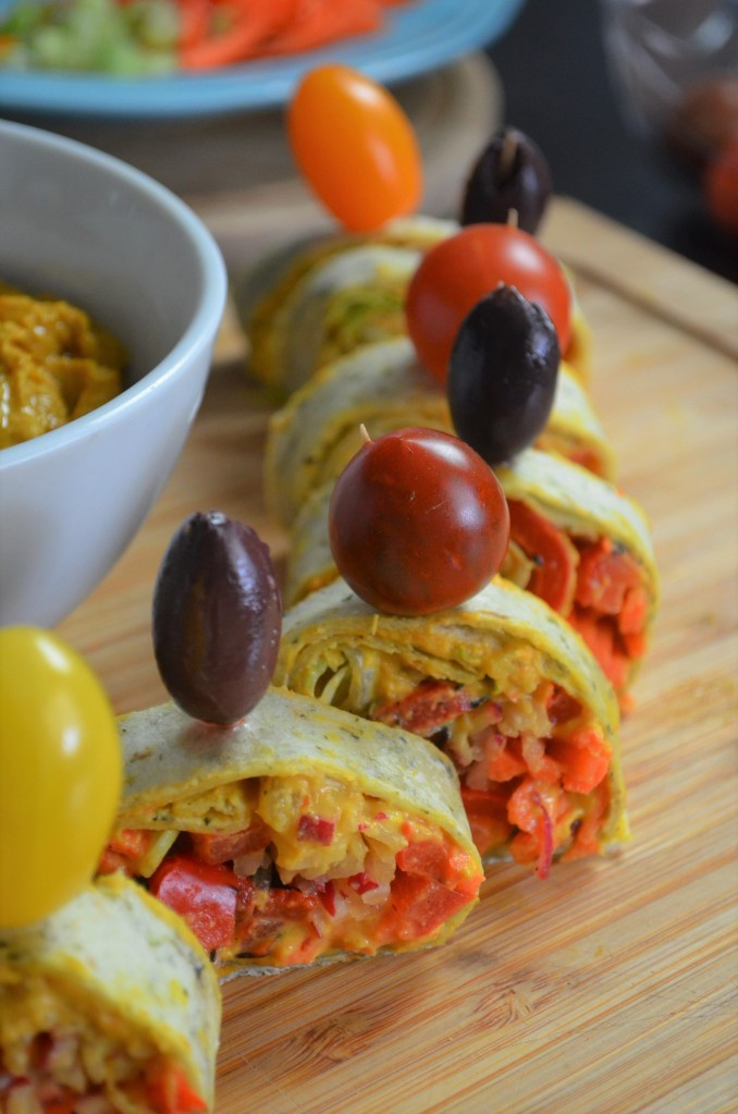 How to Make Vegetarian Tortilla Wrap