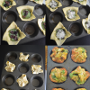 Spinach Puff Collage