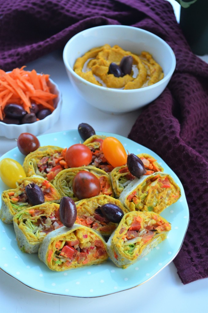 Roasted Veggie and Bell Pepper Hummus
