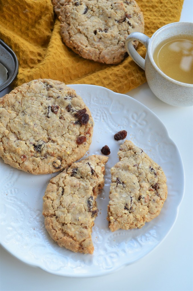 Soft and Chewy Coconut Oatmeal Chocolate Chip  Cookie