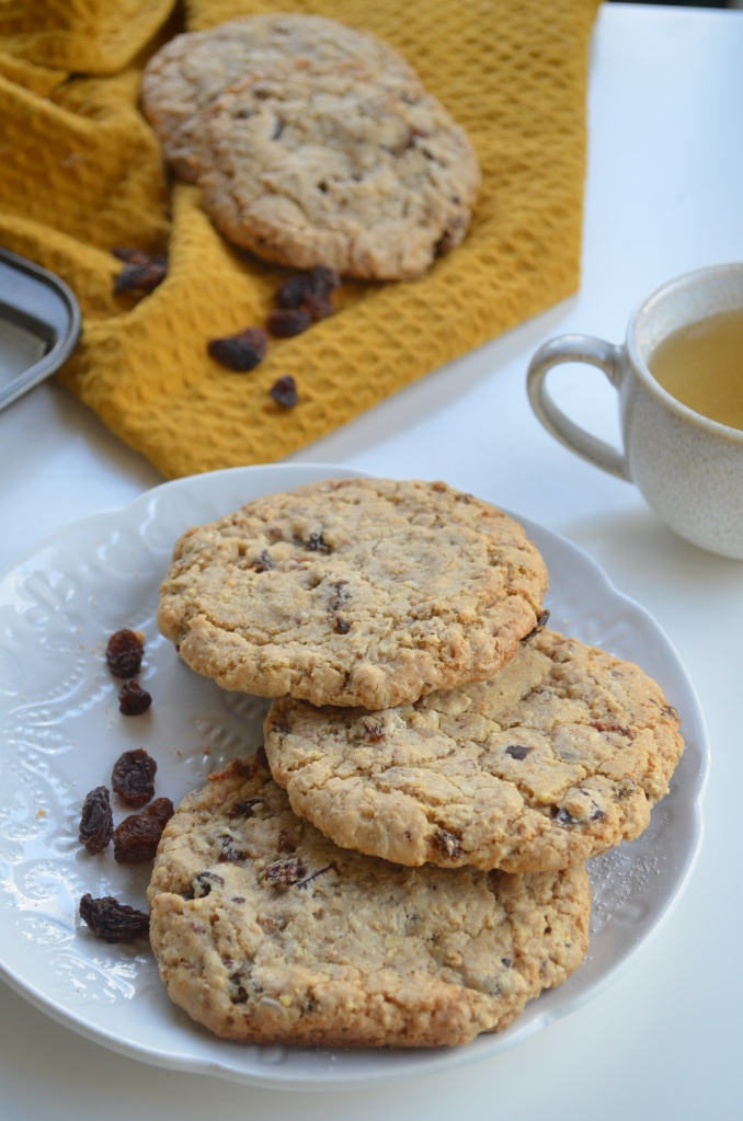 Oatmeal Raisins Chocolate Chip  Cookie By SweetNSpicyLiving