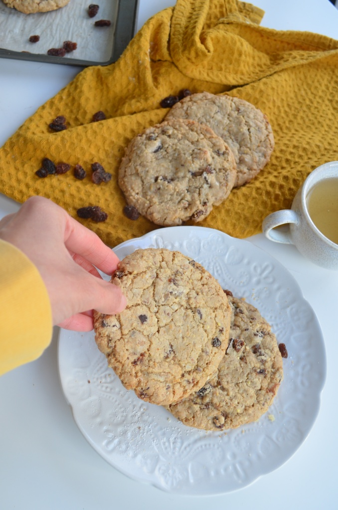 Soft and Chewy Oatmeal Raisins  Cookie By SweetNSpicyLiving