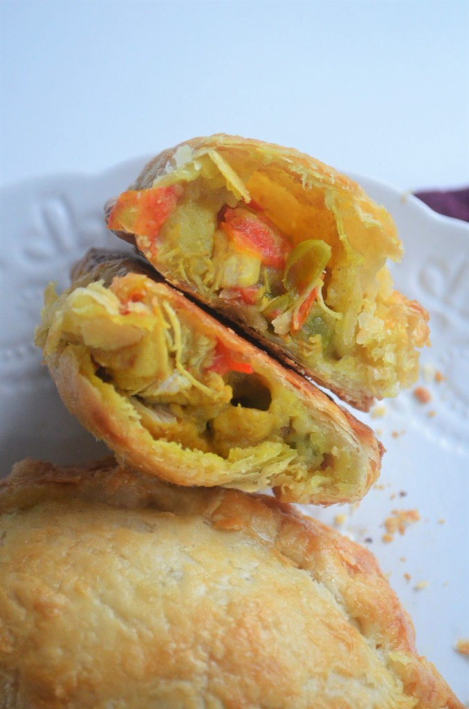 Chicken and Potato Curry Empanada By SweetnSpicyLiving