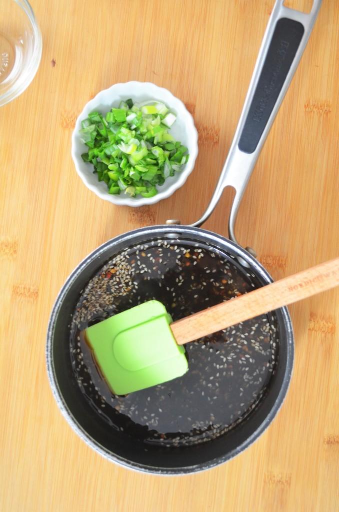 Garlic Sesame Teriyaki Sauce