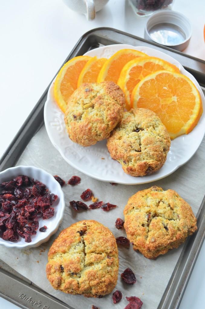 Orange and Cranberry Irish Soda Bread